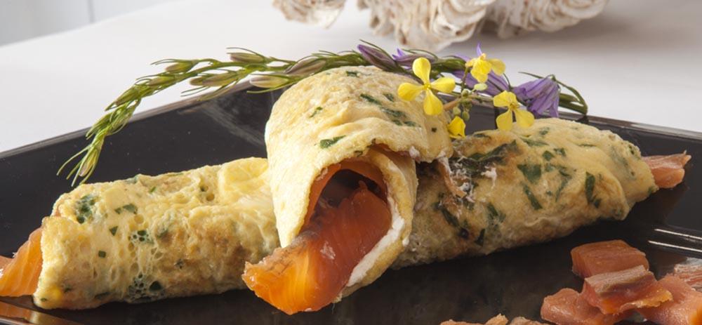 ricetta con salmone affumicato e robiola