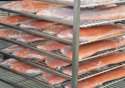 Salmone congelato
