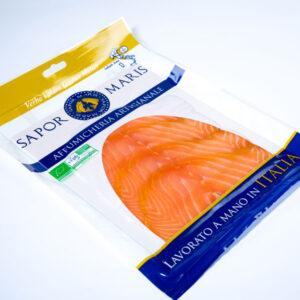 Salmone scozzese affumicato biologico